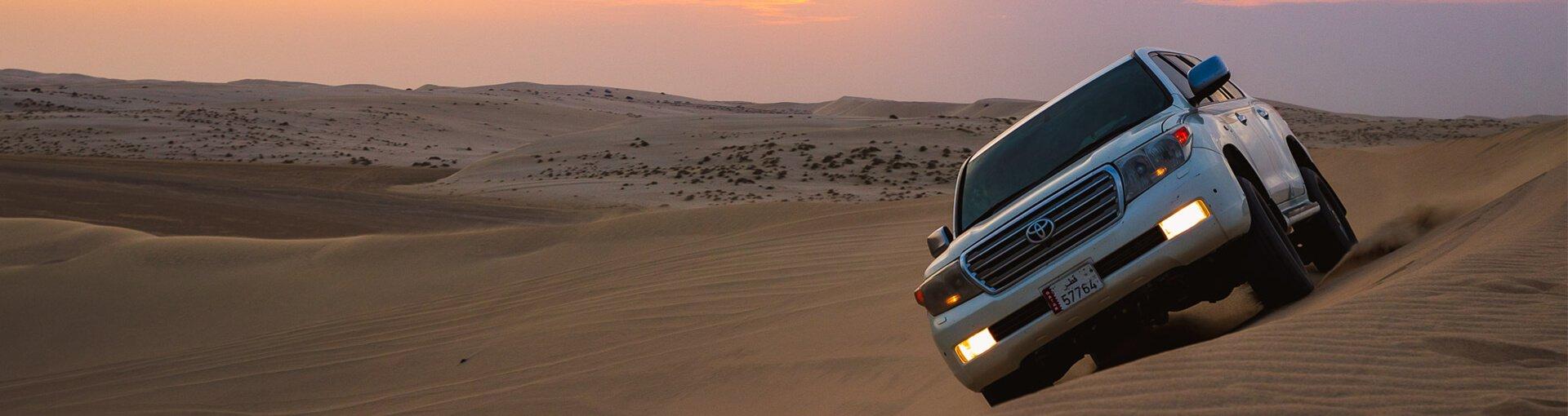 Qatar Desert Safari - Dune Bashing Tour