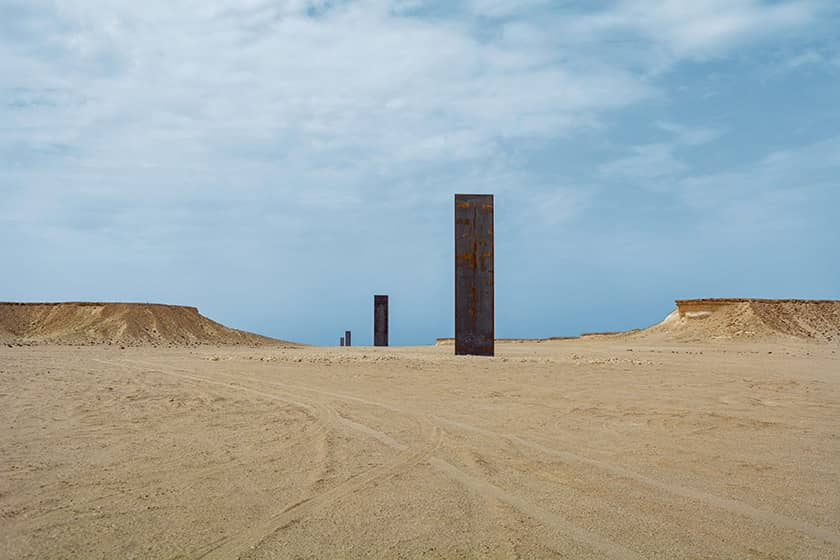 Zekreet & Richard Serra Sculptures