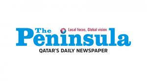 the Peninsula Qatar logo