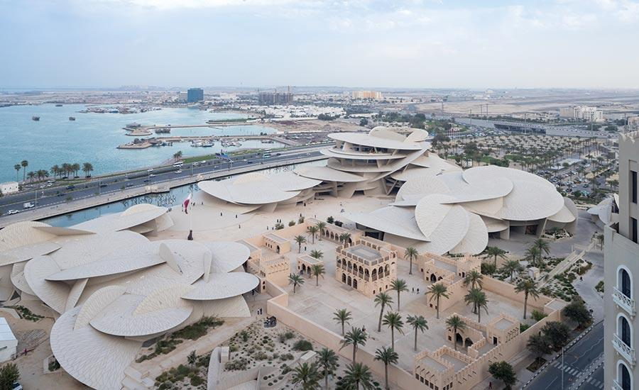 National Museum of Qatar exterior