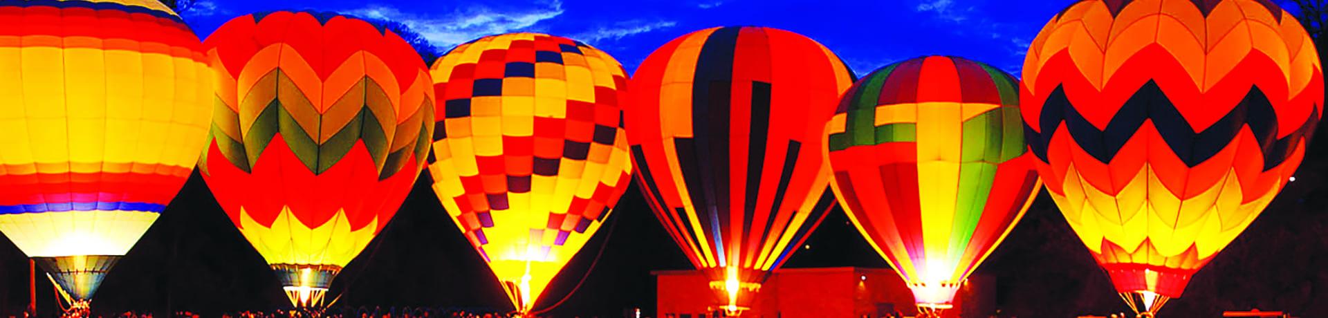 Six air balloons