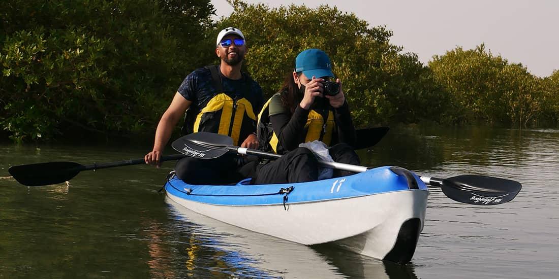 Al Mafjar Mangrove Kayaking