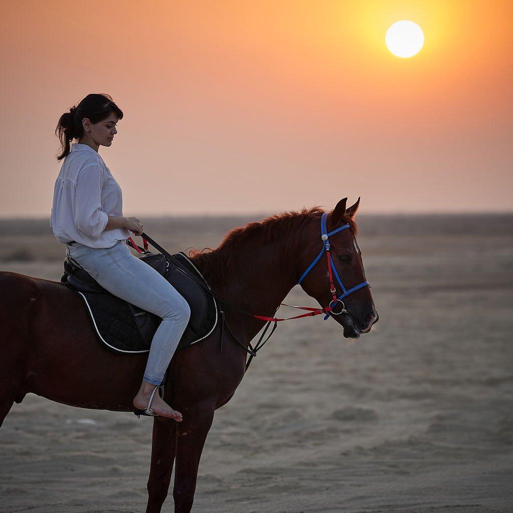 Horseback Riding - Qatar