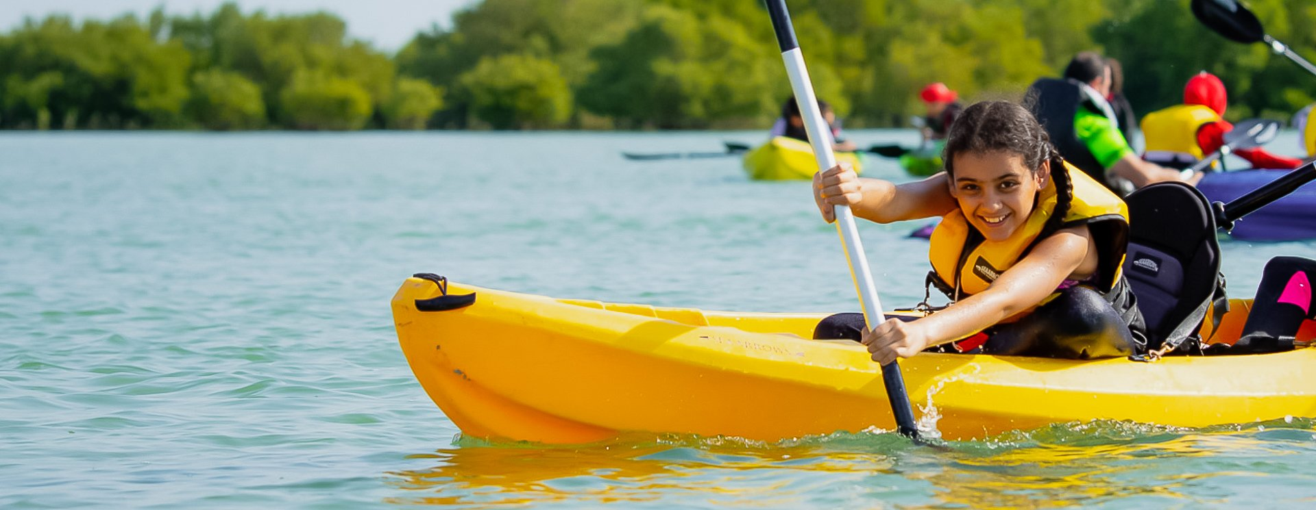 Kayaking in Qatar